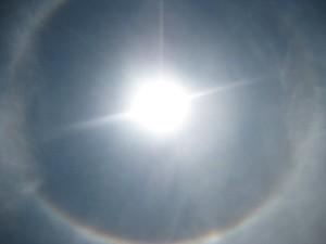 Sun Rainbows Circle Round